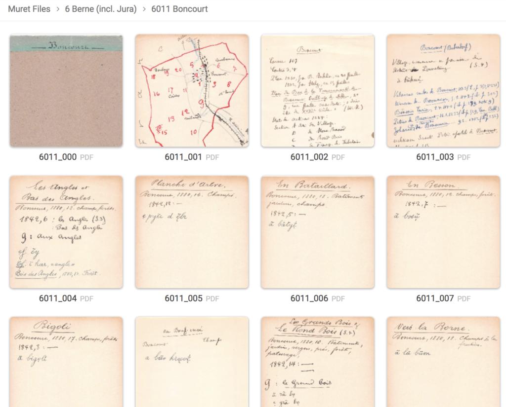 Screenshot Fichier Muret online