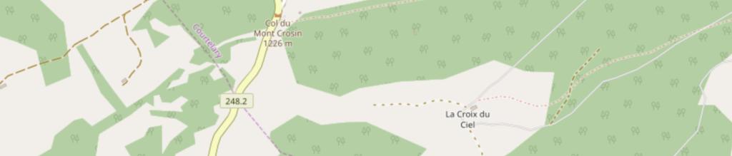 Kartenausschnitt Berner Jura